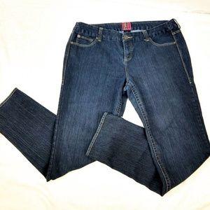 torrid Jeans - Torrid Blue Semi Straight Jeans